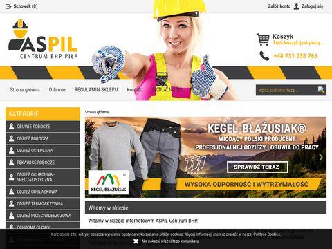 Aspil - sklep z artykułami BHP