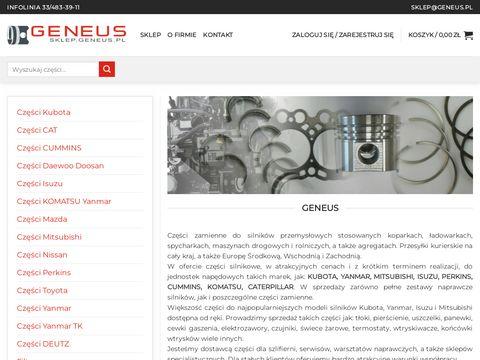 Geneus części Yanmar i Kubota - sklep internetowy