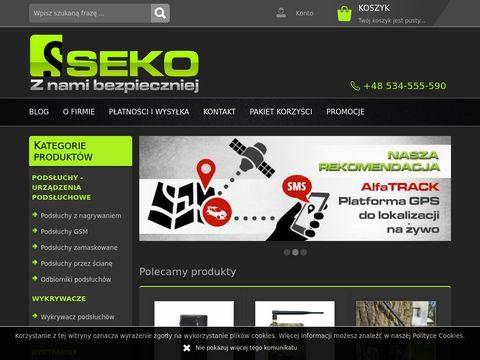 Sklep-seko.pl kontrola komputera, lokalizatorty GPS