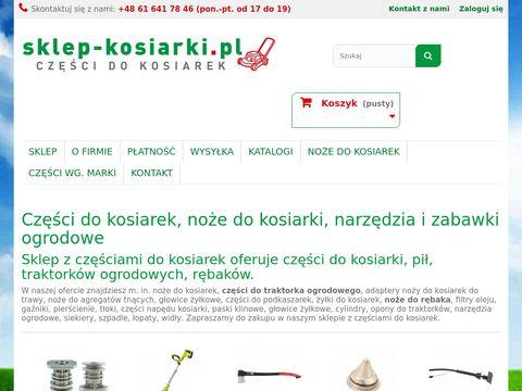 Sklep-kosiarki.pl z częściami