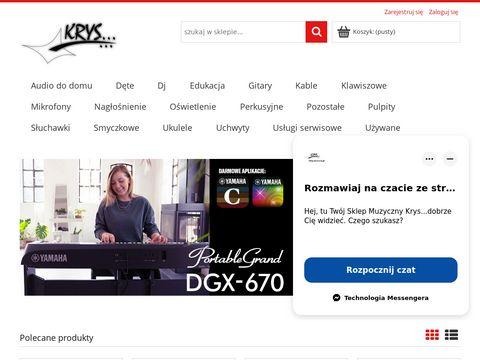 Sklep muzyczny Krys… pianina