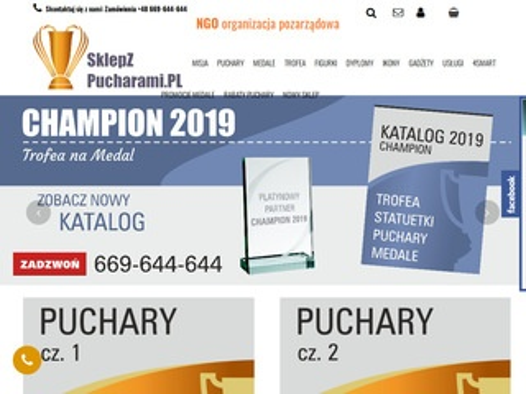Sklepzpucharami.pl