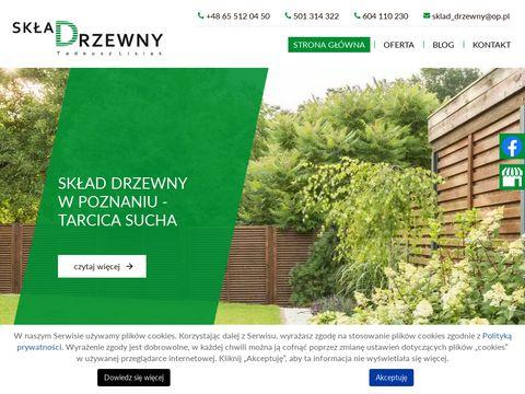 Sklad-drzewny.pl tarcica sucha Poznań