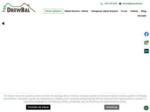 Skladdrewbal.pl Tartak Koszalin