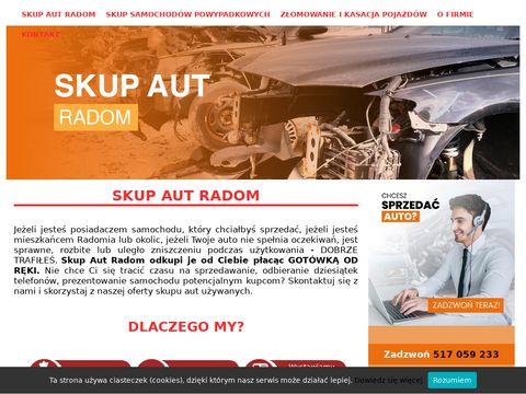 Skupaut24.radom.pl złomowanie samochodów