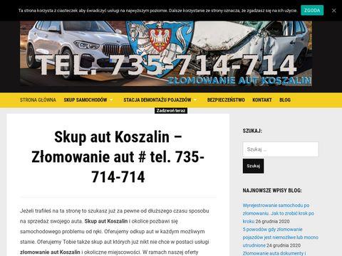 Skupautkoszalin.pl złomowanie