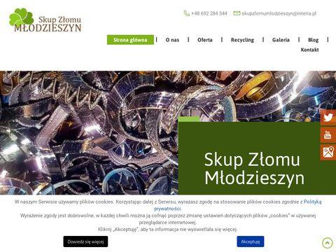 Skupzlomumlodzieszyn.pl surowce wtórne sochaczew