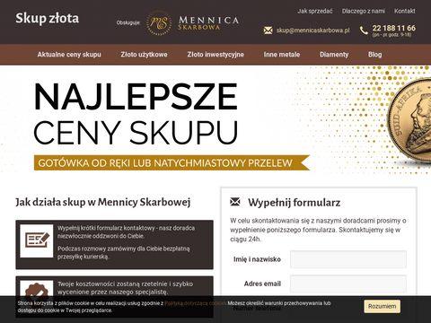 Skup.zlota.pl - Mennica Skarbowa