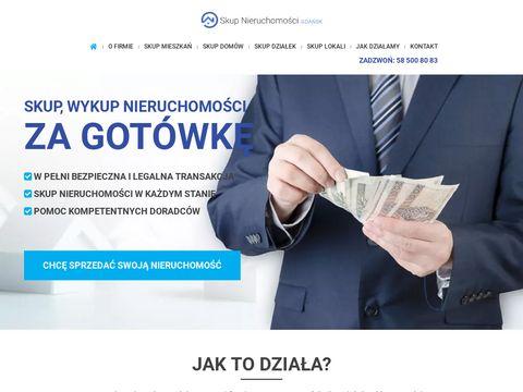 Skup-nieruchomosci-gdansk.pl - skup działek