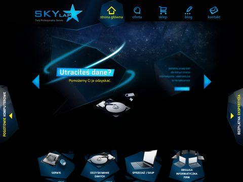 Skylap Olsztyn naprawa laptopów