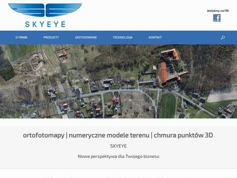 Skyeye.com.pl ortofotomapy przy użyciu drona