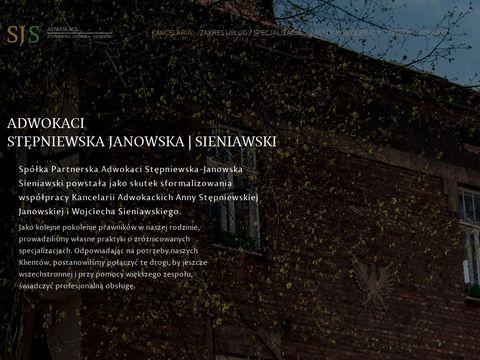 Adwokaci SJS Kraków kancelaria prawna