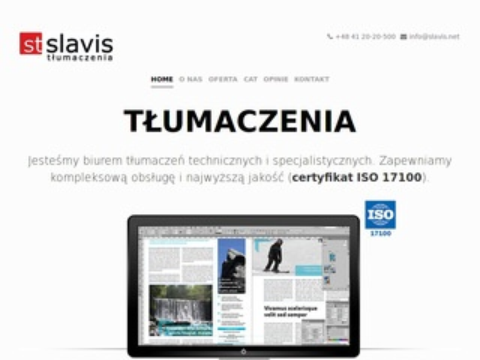 Slavis.net - tłumaczenie z niemieckiego na polski