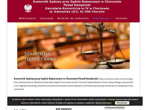 Slask.komornik.pl egzekucja