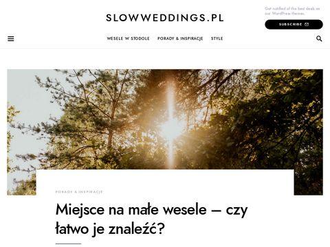 Slowweddings.pl stodoła na wesele