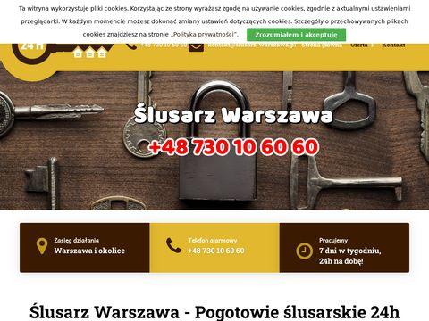 Slusarz-warszawa.pl pogotowie