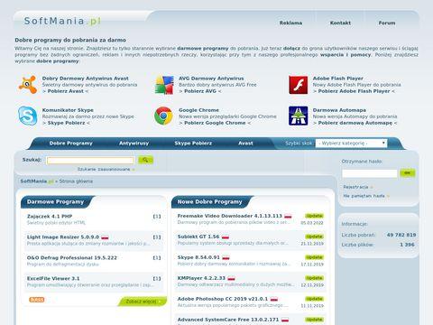 Dobre darmowe programy - SoftMania.pl