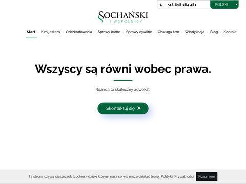 Sochanski.com sprawy cywilne Kielce