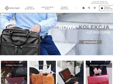 Solome odzież i obuwie męskie online