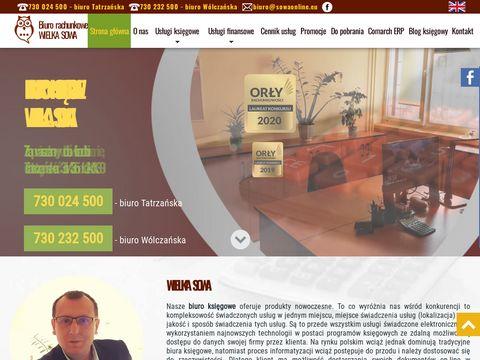 Sowaonline.eu biuro rachunkowe Łódź Widzew Zarzew