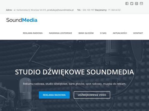 Soundmedia.pl studio dźwiękowe