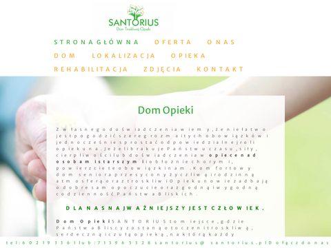 Santorius dom spokojnej starości