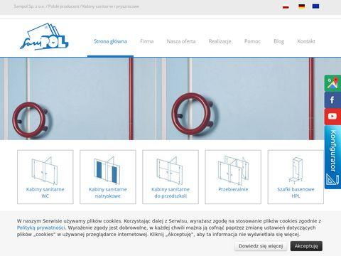 Firma Sanipol Międzyrzecz systemy ścian działowych