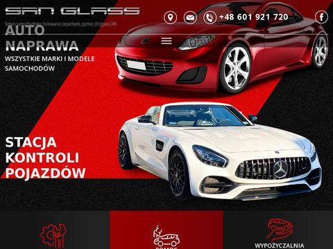 San-glass.pl pomoc drogowa