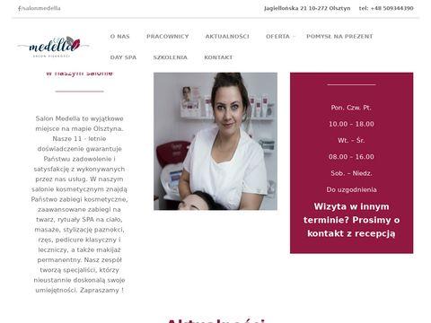 Medella - salon kosmetyczny Olsztyn