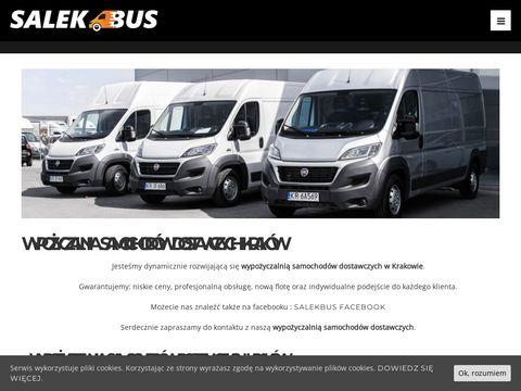 Salekbus.pl - wypożyczalnia samochodów dostawczych