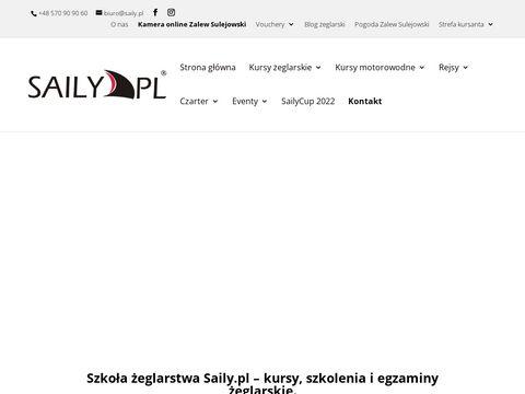 Saily.pl sternik motorowodny