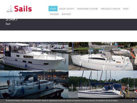 Najlepszy czarter jachtów tylko Sails.com.pl