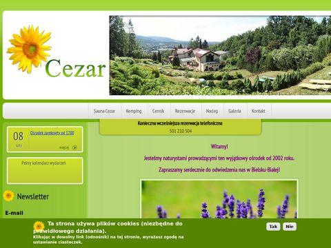 Sauna-cezar.pl kamping naturystyczny