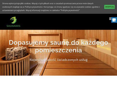 Saunawis.pl budowa