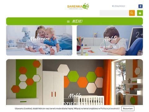 Sarenka.eu - materace dla dzieci