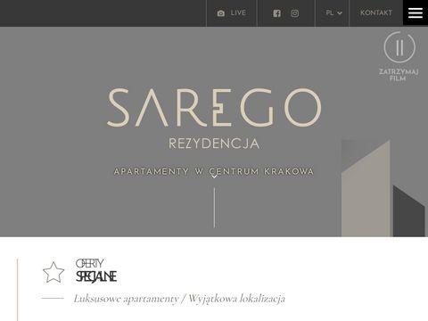 Saregorezydencja.pl luksusowe apartamenty