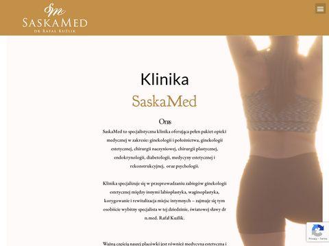 Saskamed.pl - leczenie nadpotliwości
