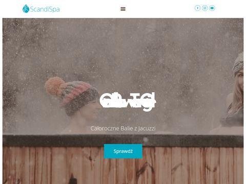Scandispa.com - wyposażenie spa w ogrodzie