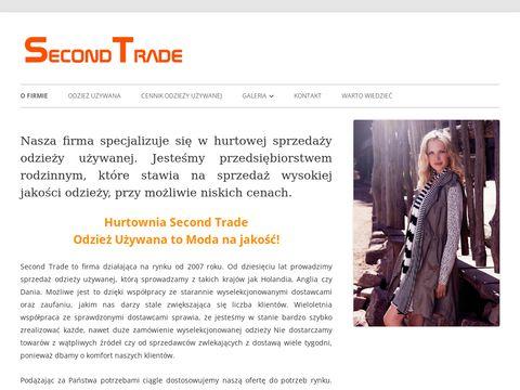 Second-trade.pl odzież używana niesort
