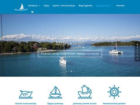 Sea Adventure - Szkolenia i kursy żeglasrkie, czartery jachtów