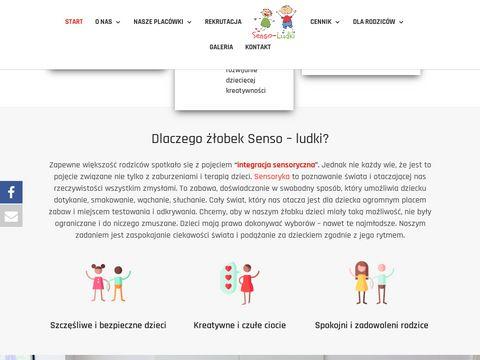 Sensoludki.pl żłobek Warszawa