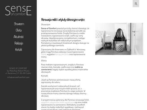 Sense of Comfort materiały obiciowe Warszawa