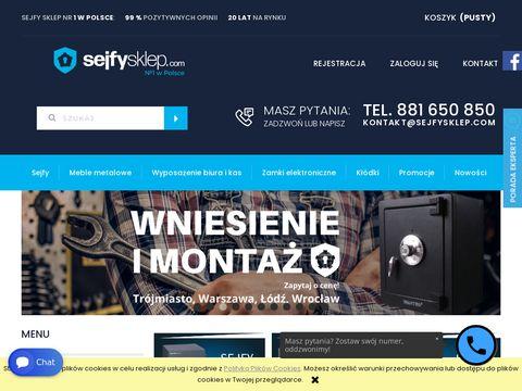 Sejfysklep.com internetowy z sejfami do biur i domów