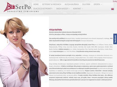 Setpoint.pl - poradnia dietetyczna w Warszawie