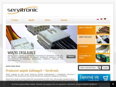 Servitronic.pl wiązki kablowe