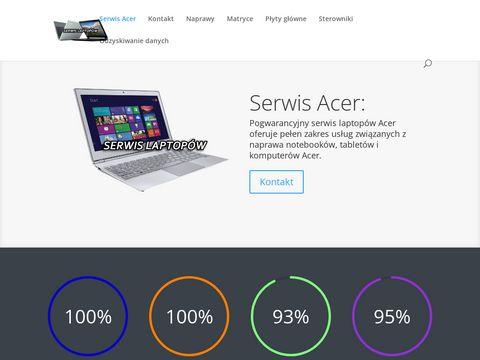 SerwislaptopowAcer.pl naprawa laptopów i części