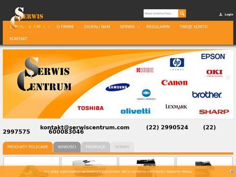 Serwis Centrum - naprawa drukarek