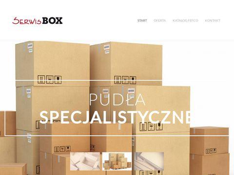 Serwisbox.com.pl opakowania tekturowe