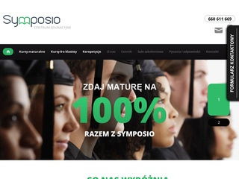 Symposio.pl sale szkoleniowe korepetycje Wrocław
