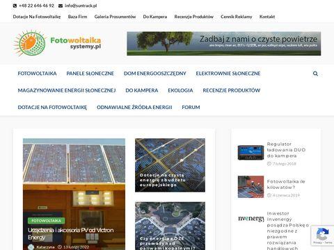 Systemy-fotowoltaika.pl elektrownie słoneczne